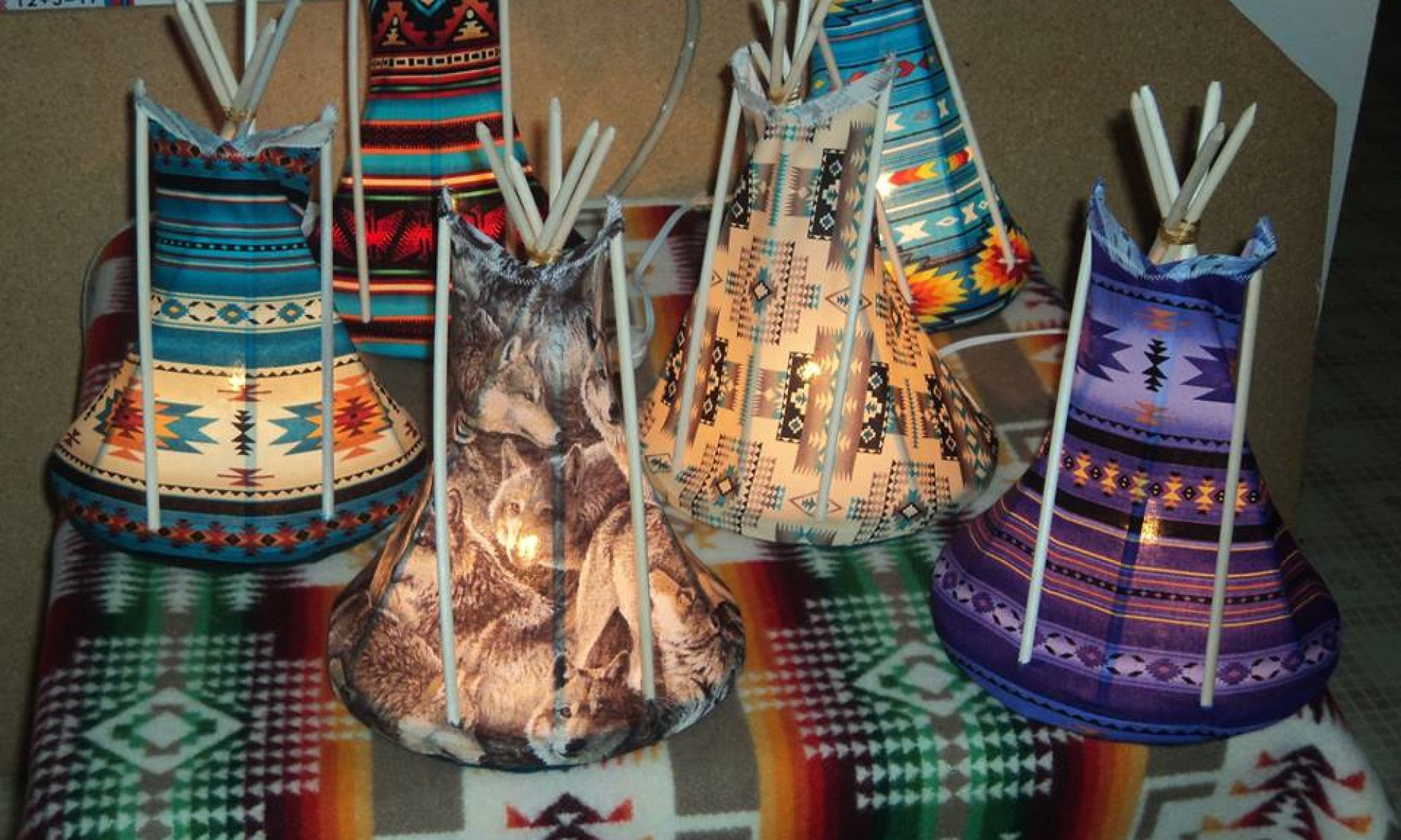 Three Fires Tipi Night Lights