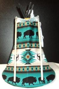 Tipi-Buffalo-Teal