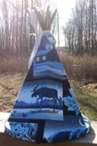 Tipi-Moose-Blue